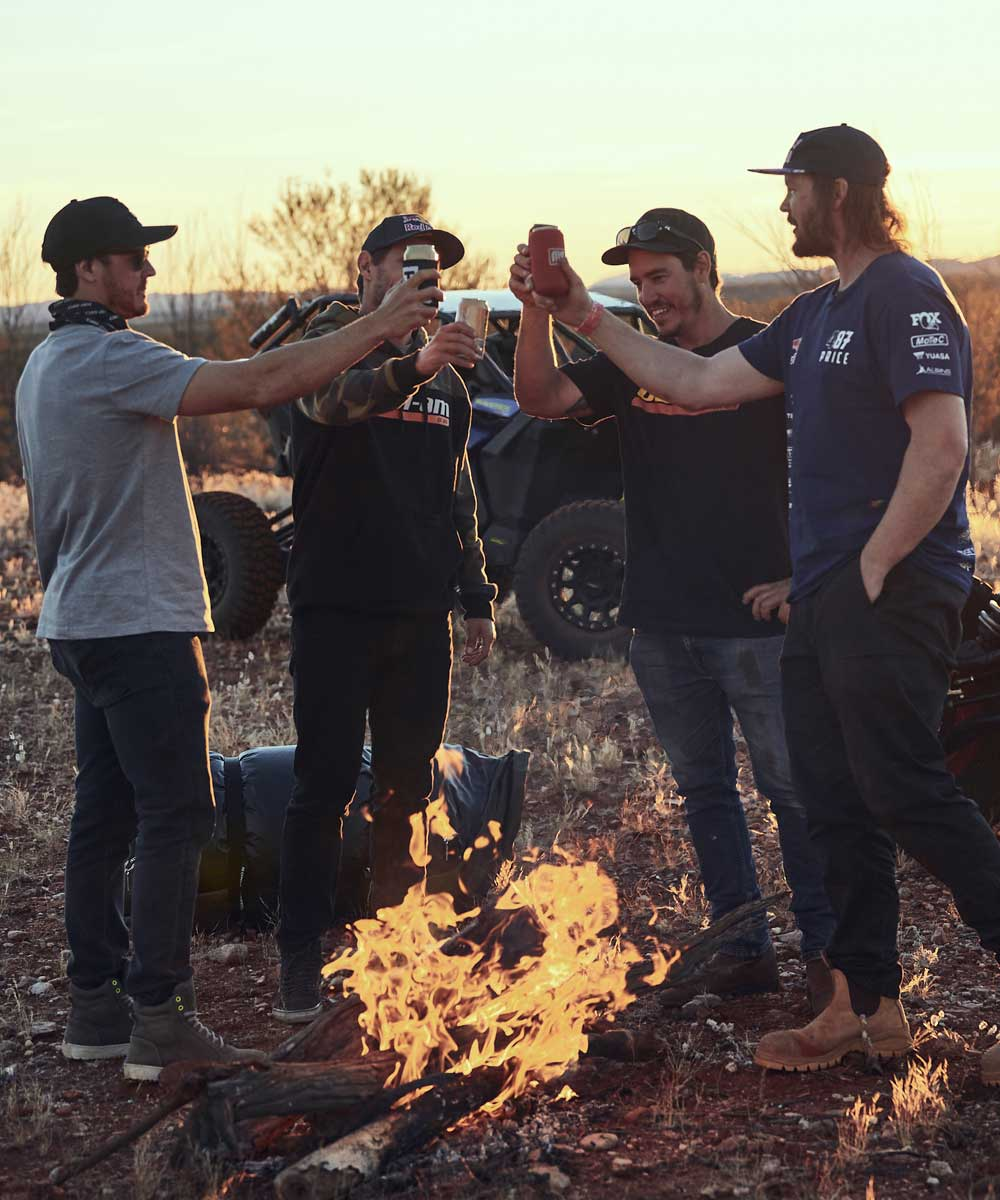 Can-Am Off-Road's Riding The Red Centre crew
